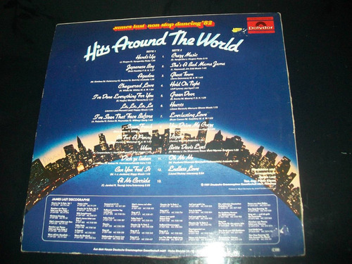 lp james last hits around the world - reliquia
