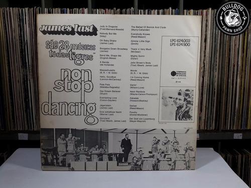 lp james last non stop dancing 1968  - veja o video - dj
