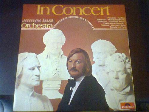 lp james last orchestra - in concert