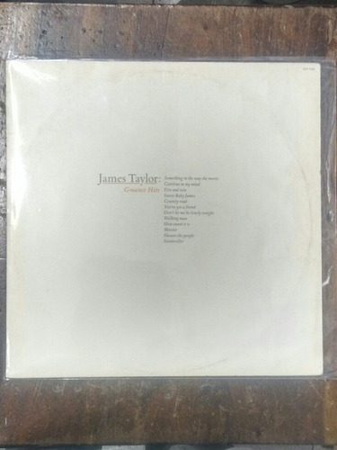 lp james taylor - greatest hits