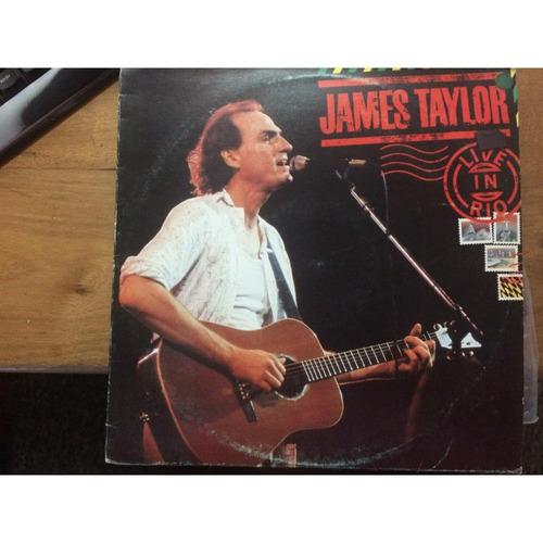 lp james taylor- live in rio