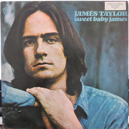 lp james taylor sweet baby james 1976 vg