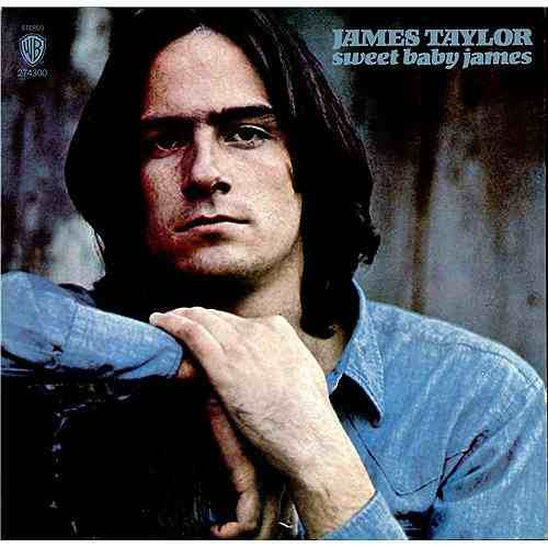 lp james taylor sweet baby james warner 1971