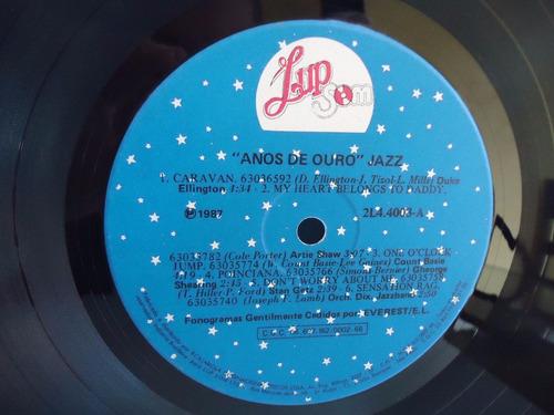 lp jazz  anos de ouro - selo lup som- nacional- 1987