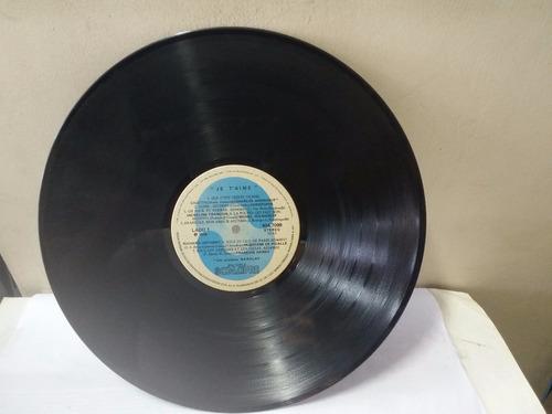 lp je taime 1978 14 sucessos românt. francesa som livre ja15