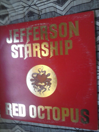 lp - jefferson starship - red octopus  - importado