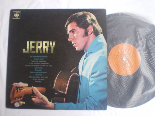 lp - jerry adriani - com raul seixas / cbs / 1970