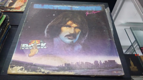 lp jim capaldi electric lights en formato acetato,long play