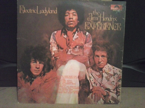 lp jimi hendrix experience - electric ladyland