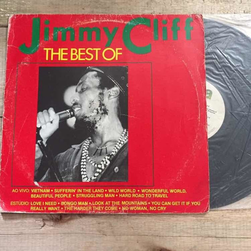 lp jimmy cliff the best of 1986