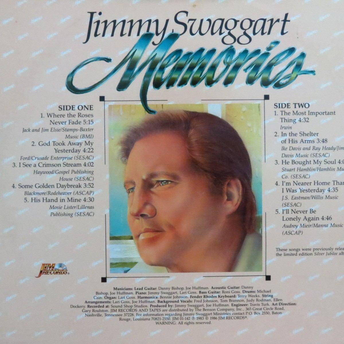 Lp - Jimmy Swaggart - Memories - Vinil Raro