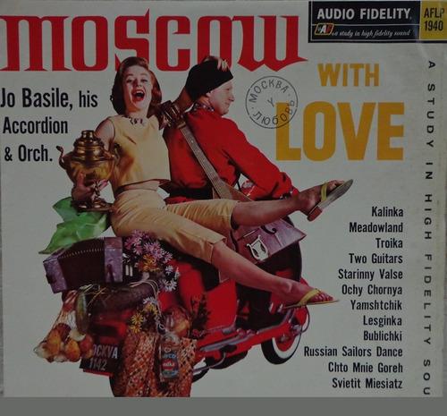lp-jo basile,acordeon e orquestra(moscou com amor)monaural
