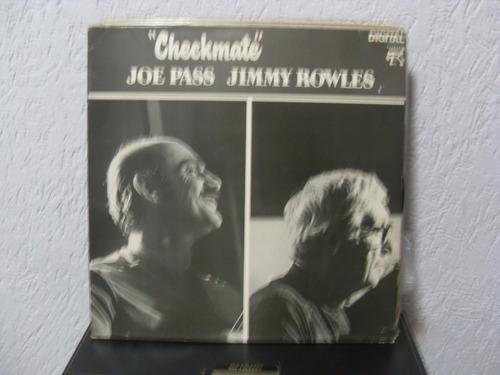 lp joe pass / jimmy rowles - checkmate