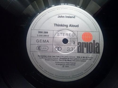 lp john ireland thinking aloud
