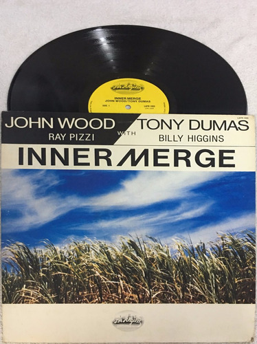 lp john wood ,tony dumas , inner merge ,imp.clube jazz