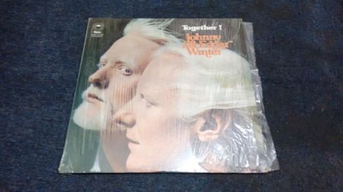 lp johnny and edgar winter together! en acetato,long play