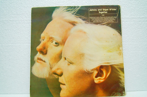 lp - johnny and edgar winter - together live