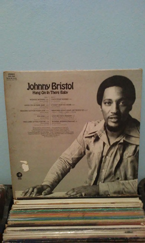 lp johnny bristol hang on in there baby 1974 raro