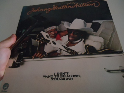 lp - johnny guitar watson- i don´t want to be alone stranger