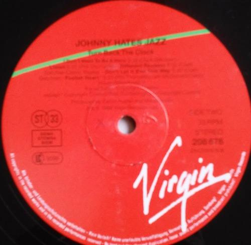 lp johnny hates jazz turn back the clock importado raro