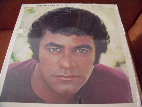 lp johnny mathis, importado, the best days of my life