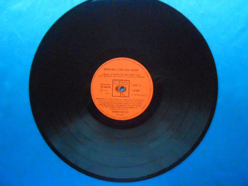 lp johnny mathis p/1975- when will i see you again