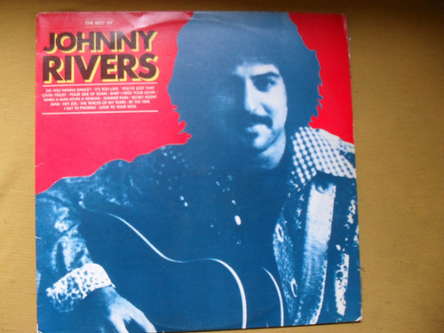 lp -johnny rivers  coletania samba rock