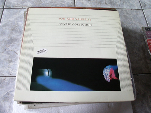 lp jon and vangelis-private collection- 1983