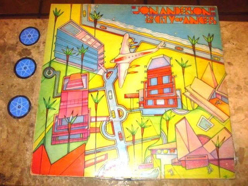 lp jon anderson ( yes ) - in the city of angels (1988)