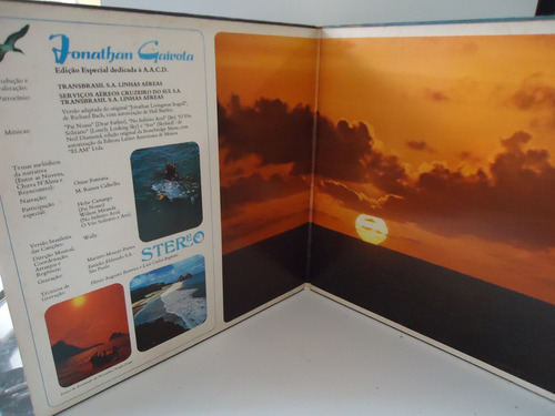lp jonathan gaivota- continental - capa dupla (box 1 & 2)