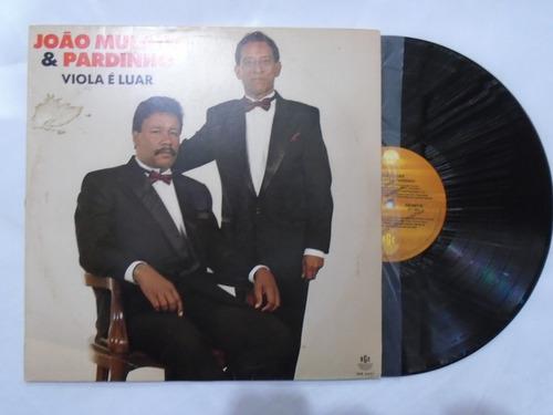 lp - joão mulato e pardinho / viola é luar / rge / 1993