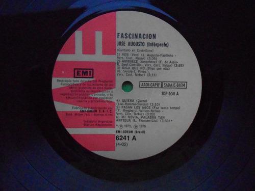 lp josé augusto p/1976 - en castellano -facinación