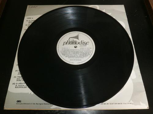 lp jovem guarda - os grandes momentos, disco vinil, ano 1986