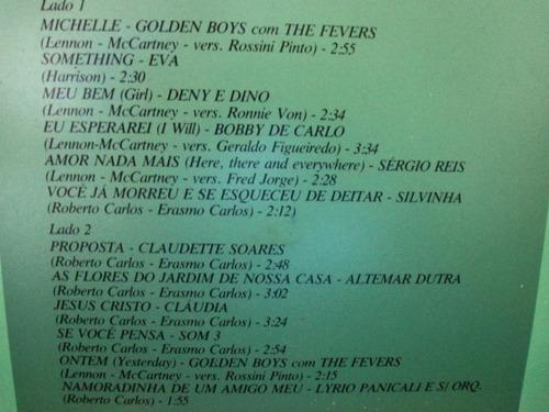 lp jovem também tem saudade: cover beatles y roberto 1975