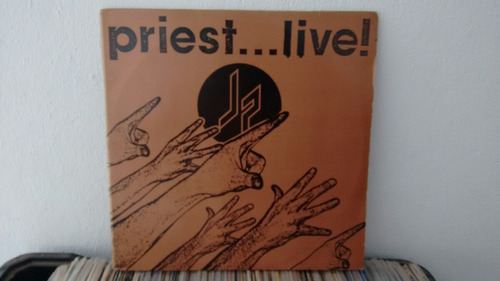 lp judas priest - priest...live duplo novíssimo!