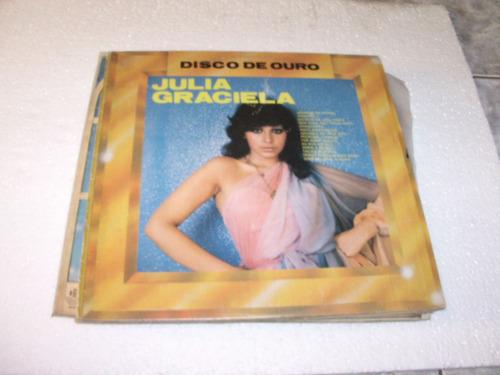 lp julia graciela, disco de ouro, anúncio de jornal