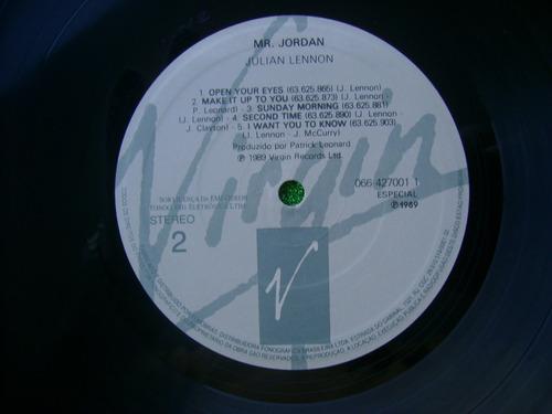 lp julian lennon p/1989- mr jordan
