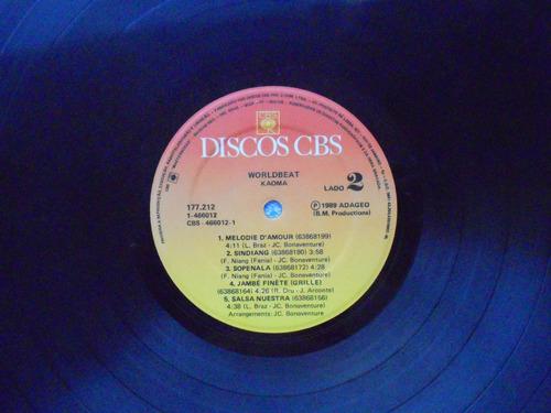 lp kaoma p/1989- worldbeat