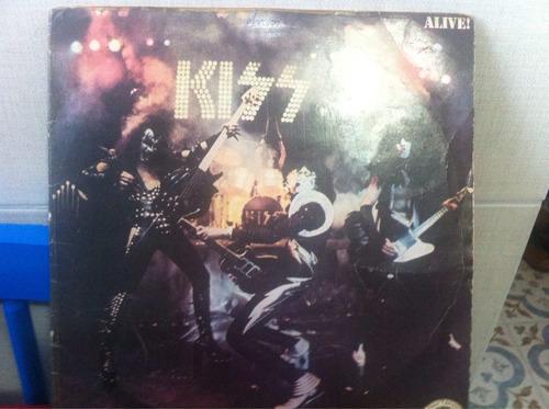 lp kiss alive 1976 raro
