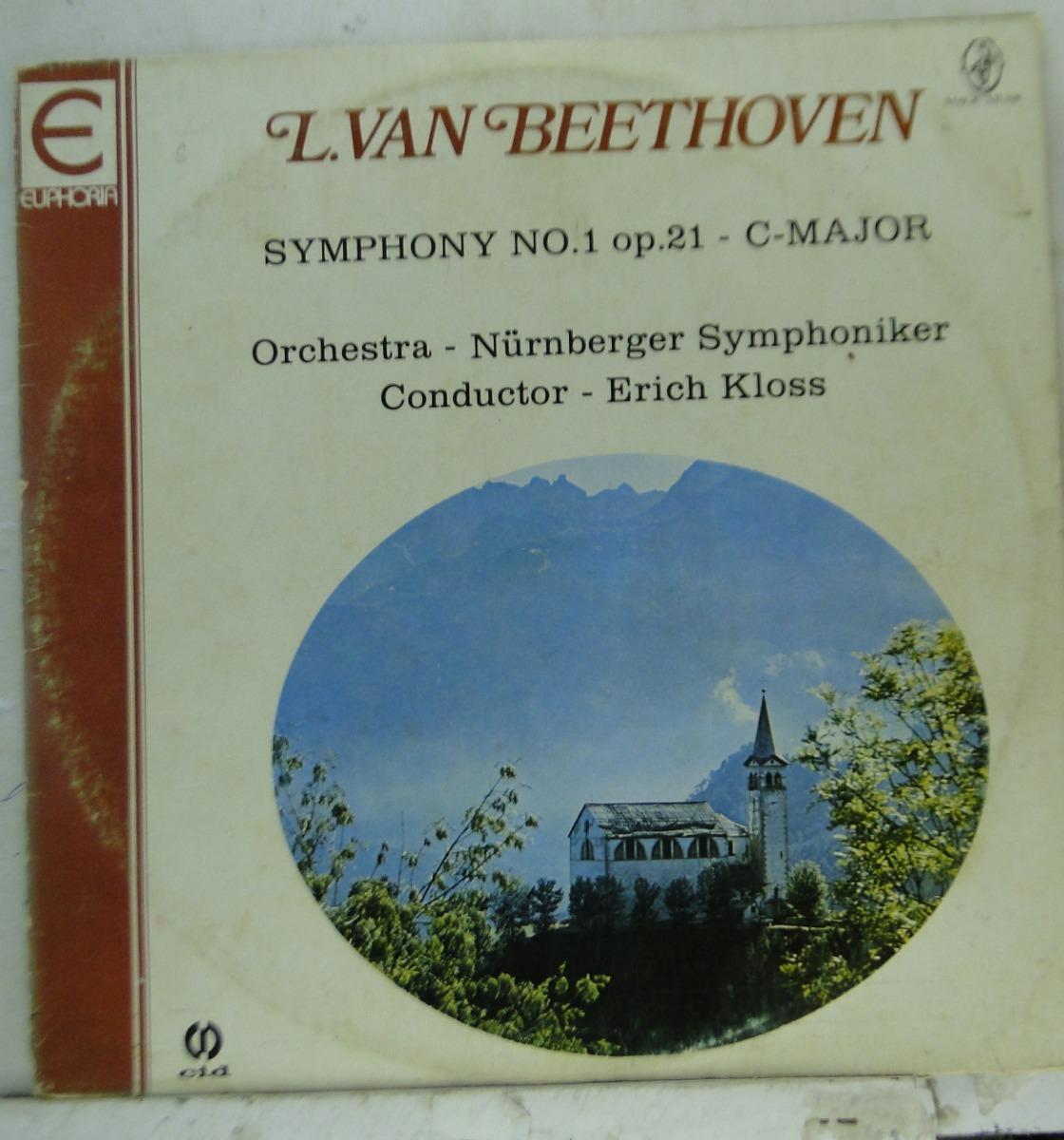 Lp L  Van Beethoven - Symphony No 1 Op 21 - C-major - Li016