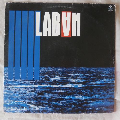 lp laban 1988 roulette, disco de vinil eurodisco
