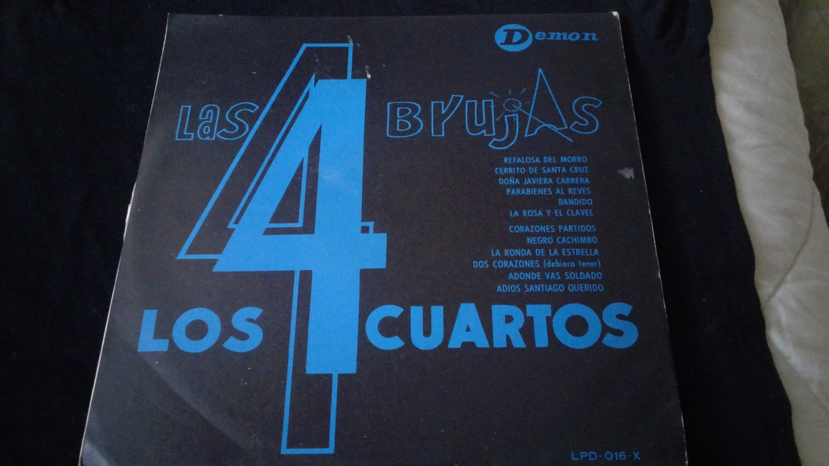 Lp Las Cuatro Brujas Y Los Cuatro Cuartos - $ 12.000