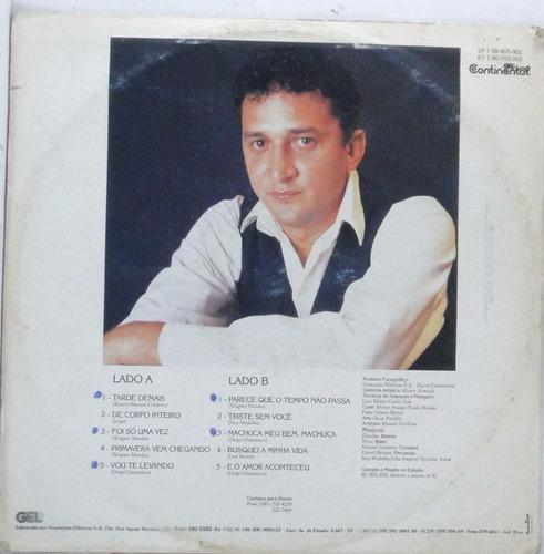lp leal bentes-  - 1992 - disco  raro  -  l007