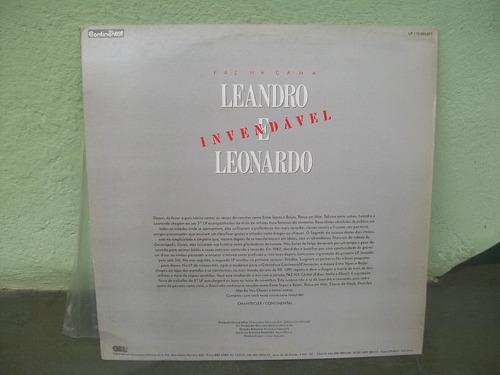 lp. leandro e leonardo paz na cama mix promocional 1991.