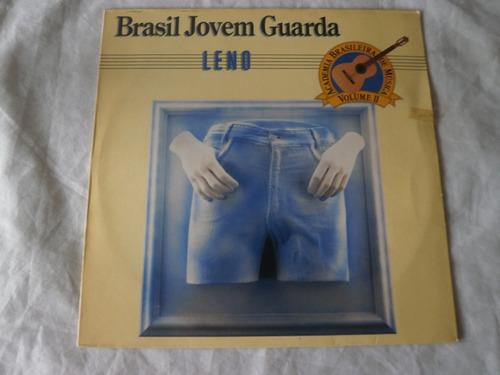lp leno brasil jovem guarda, disco de vinil