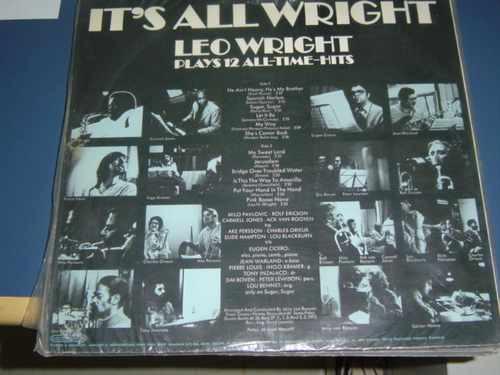 lp leo wright - it's all wright - raro um show de sax !!!