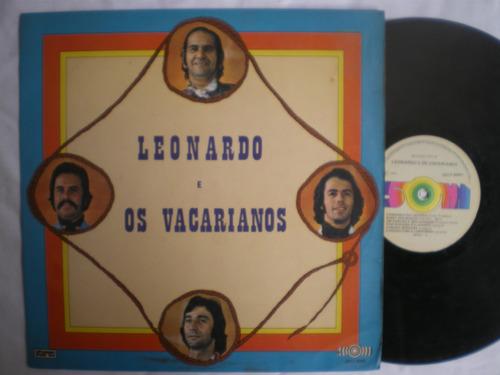 lp - leonardo e os vaqueanos / som / 1975