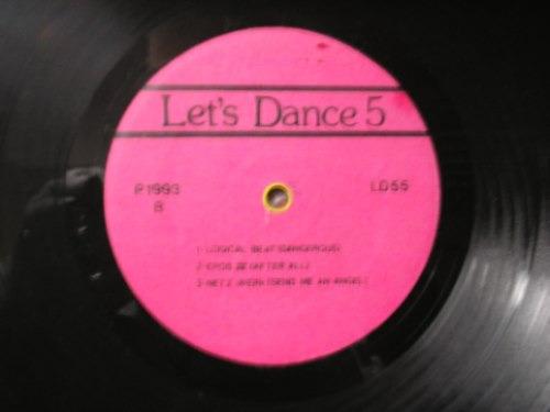 lp let's dance 5 # diversos