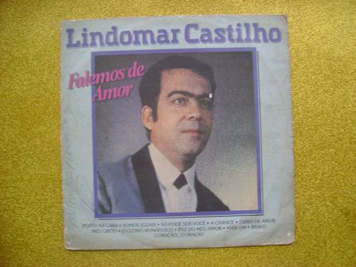 lp lindomar castilho p/1986- falemos de amor