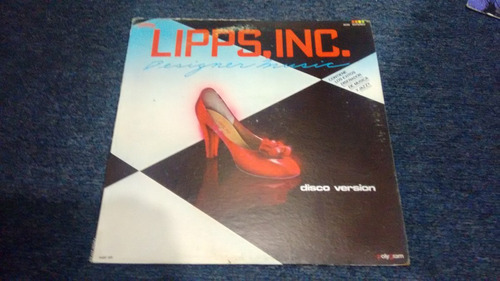 lp lipps inc designer music en acetato,long play